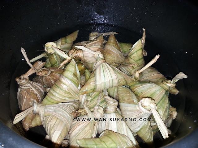 cara rebus ketupat noxxa lagi cepat dan mudah