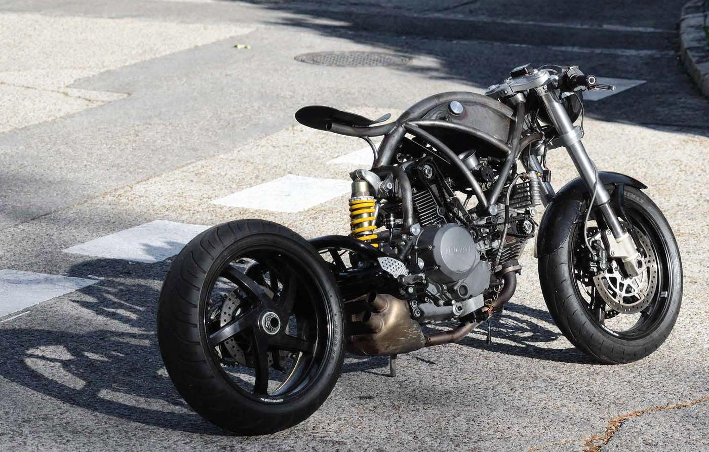 Ducati Monster S2R Custom - Grease n Gas