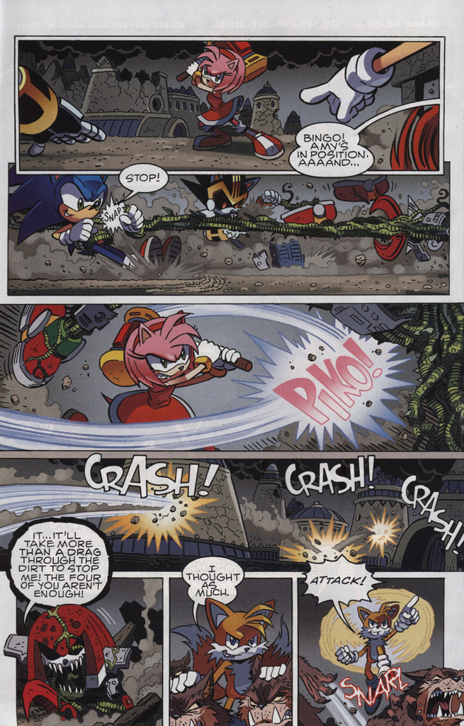 Read online Sonic The Hedgehog comic -  Issue #246 - 16
