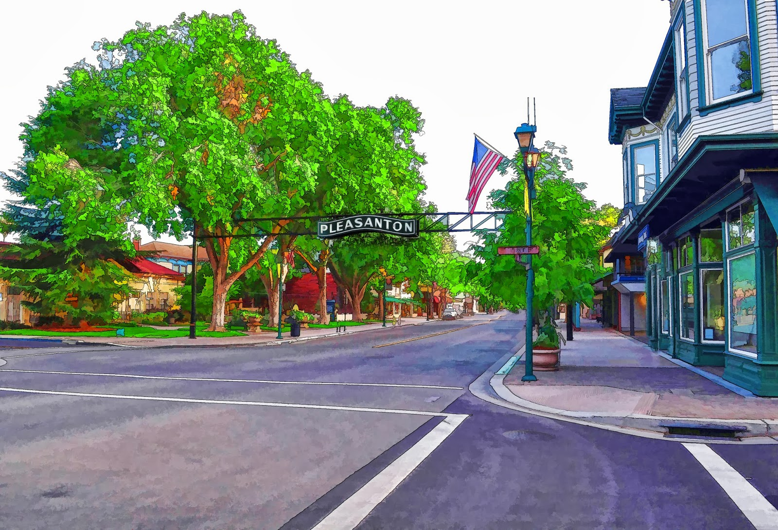 SimplyEvansPhotoArt BlogSite: I Love Downtown Pleasanton