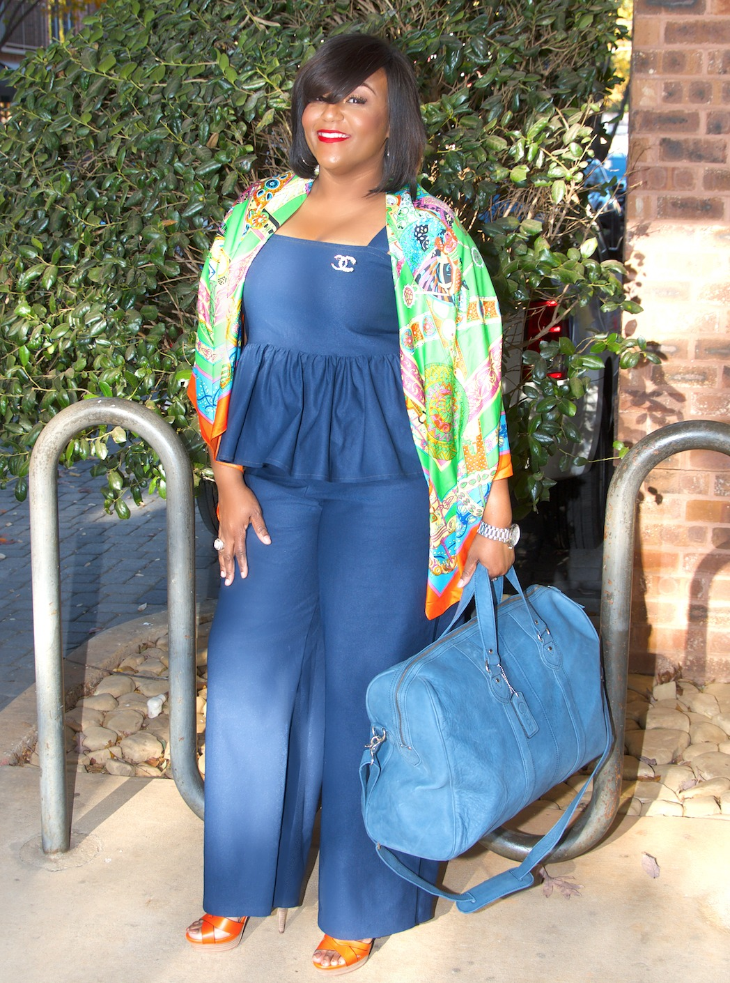 Cargo bags by cynthia bailey