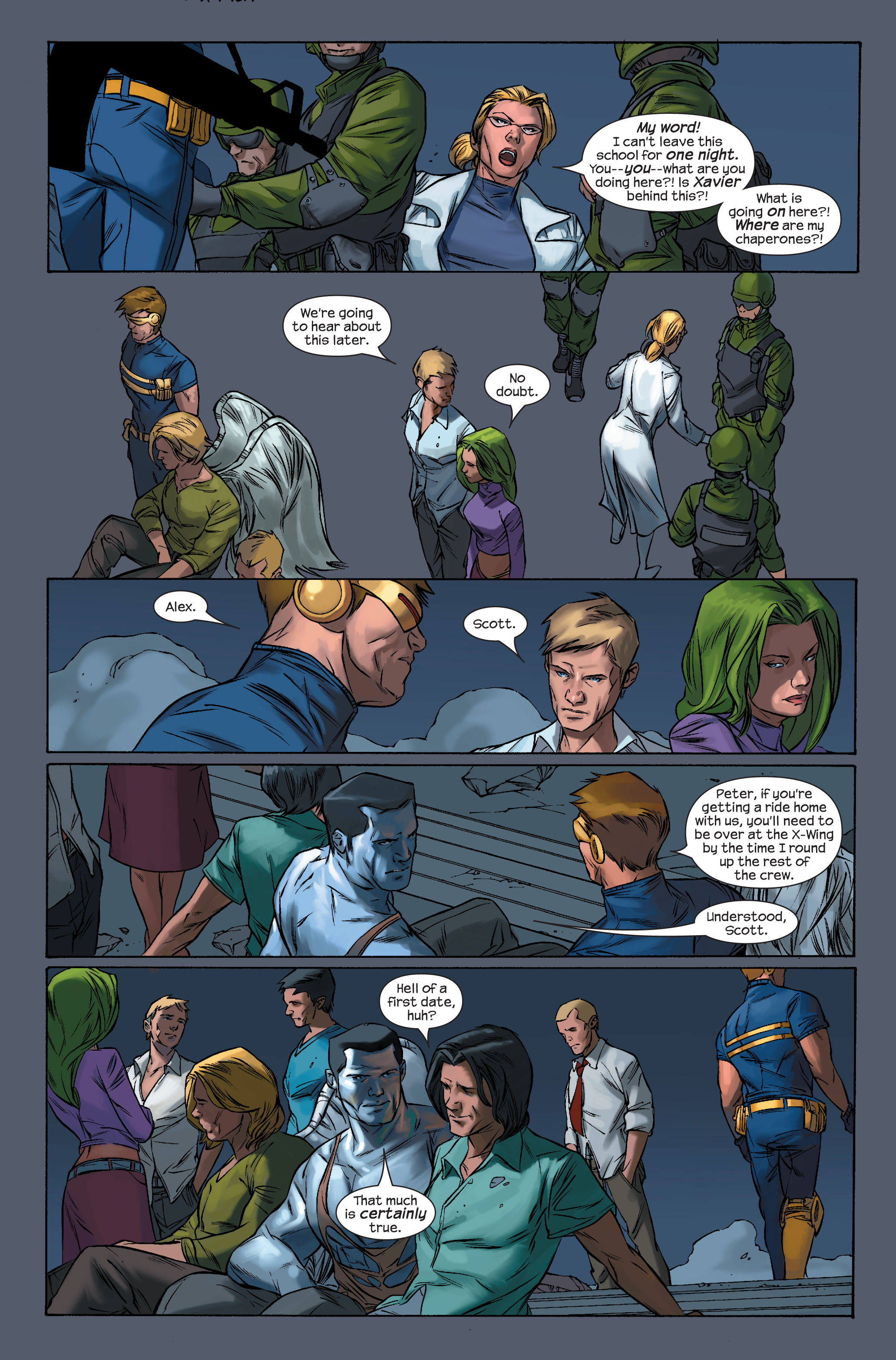 Read online Ultimate X-Men comic -  Issue #71 - 16