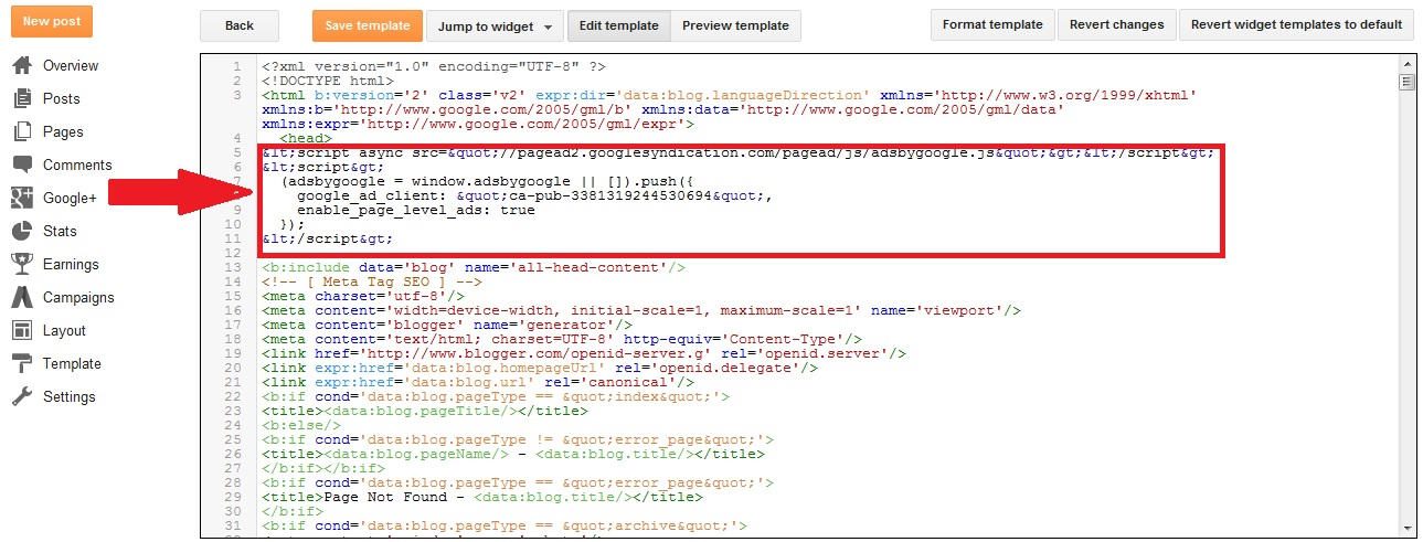 adsense page level ads blog me kaise lagaye use kare
