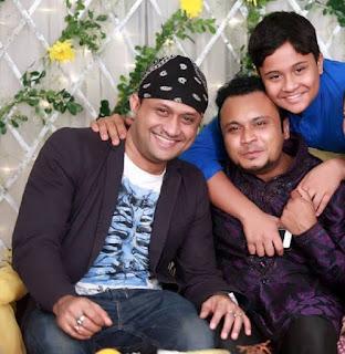 Mishu Sabbir And His Wife Shamma Holud Wedding Photos With Singer S.I. Tutul