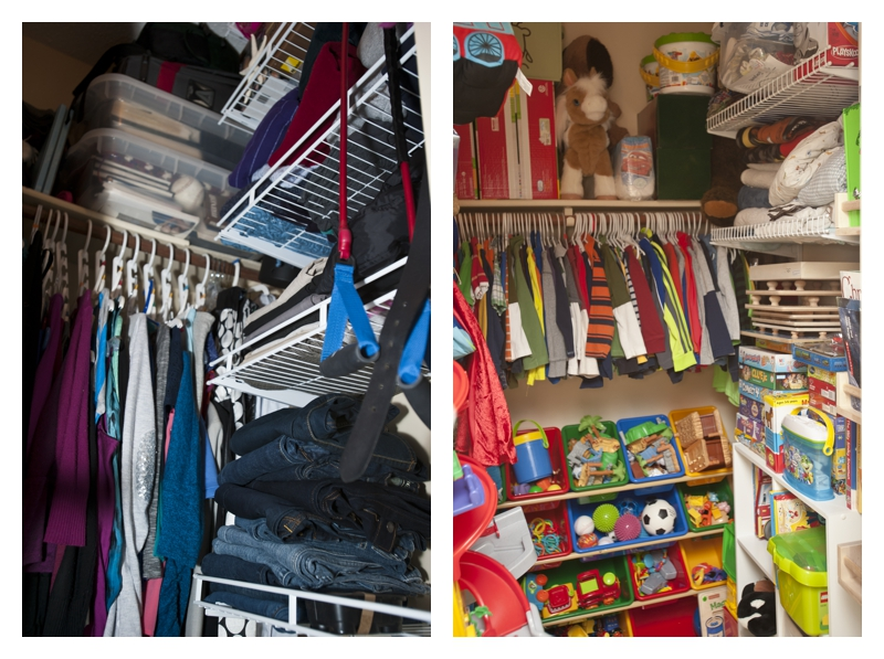 Using Your Resources: How to Make Dead Space Work for You - Closet Storage with Extra Shelving