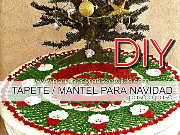 patrones-mantel-navideño-ganchillo