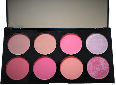 Blush palette makeup revolution