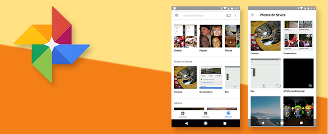 Google Rearranges Albums and Device Folders in Google Photos: Download the Update