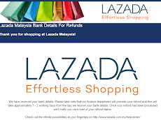 Laju REFUND dari Lazada