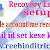 Google account me recovery email set kaise kare