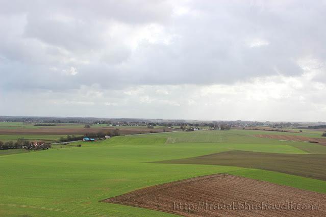 Waterloo Butte du Leon Lion's Mound Napoleon's last battlefield