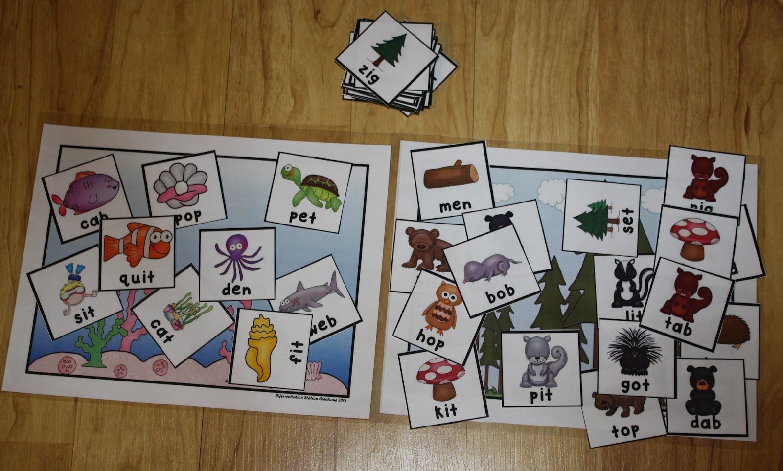 Differentiation Station Creations Fun With Cvc Words