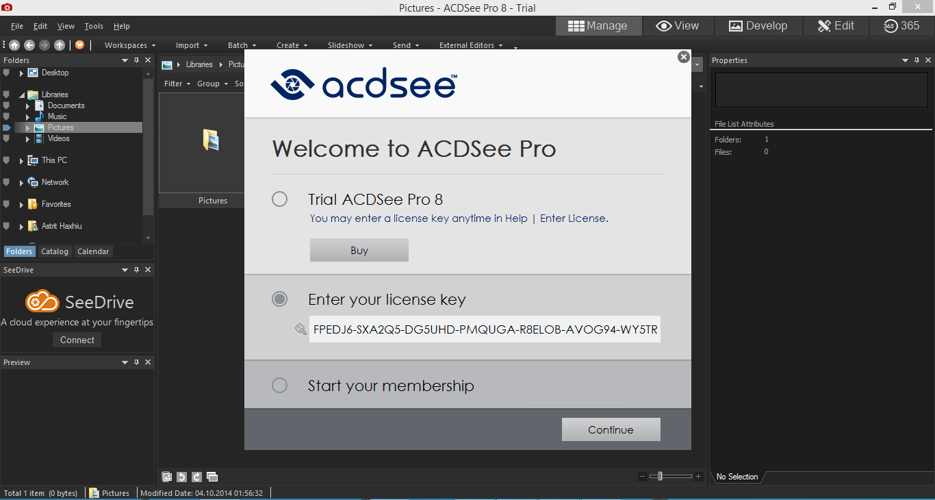 Blog Zombie 6: ACDSee Pro 8 Full Serial Key