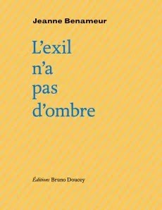 L'exil n'a pas d'ombre - Jeanne Benameur