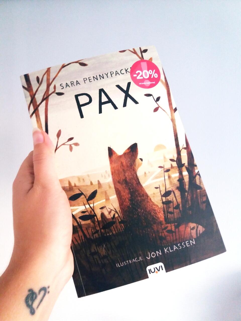 """""""Pax"""" Sara Pennypacker - współczesny """"Mały Książę"""""""
