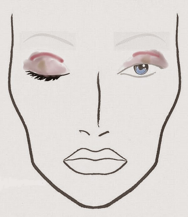 Eye makeup look with Dior 5 Couleurs 'Trafalgar'