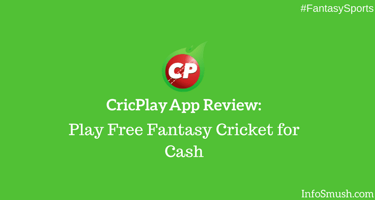 CricPlay Referral Code: infosmush