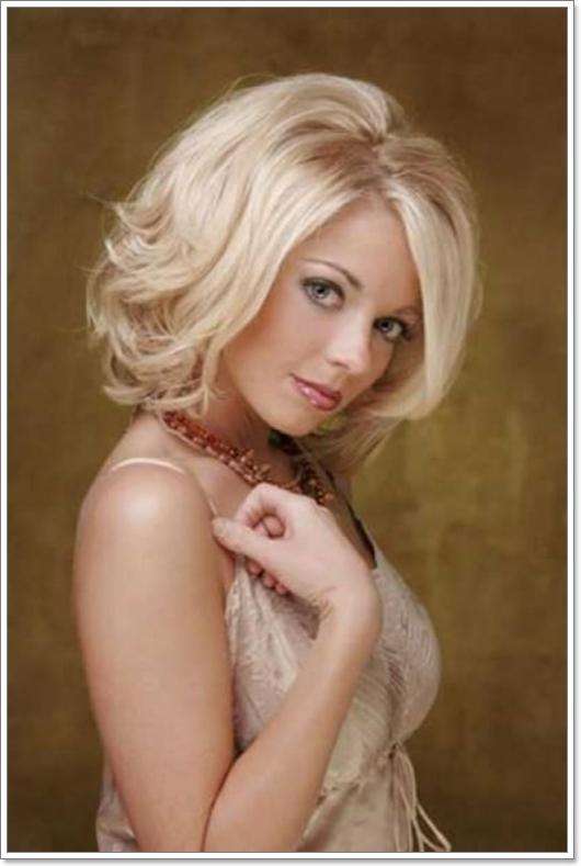Modische Frisuren für Dünnes Haar