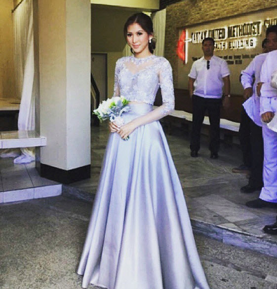 Wedding Principal Sponsors Gown: ShowbizNest