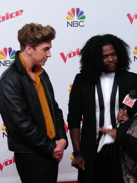 Video: Noah Mac and Davon Fleming talk performing on 'The Voice'