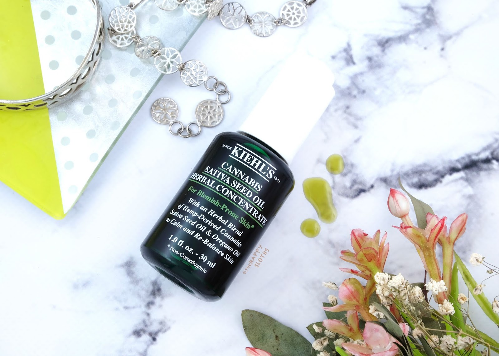 Kiehl's | Cannabis Sativa Seed Oil Herbal Concentrate: Review