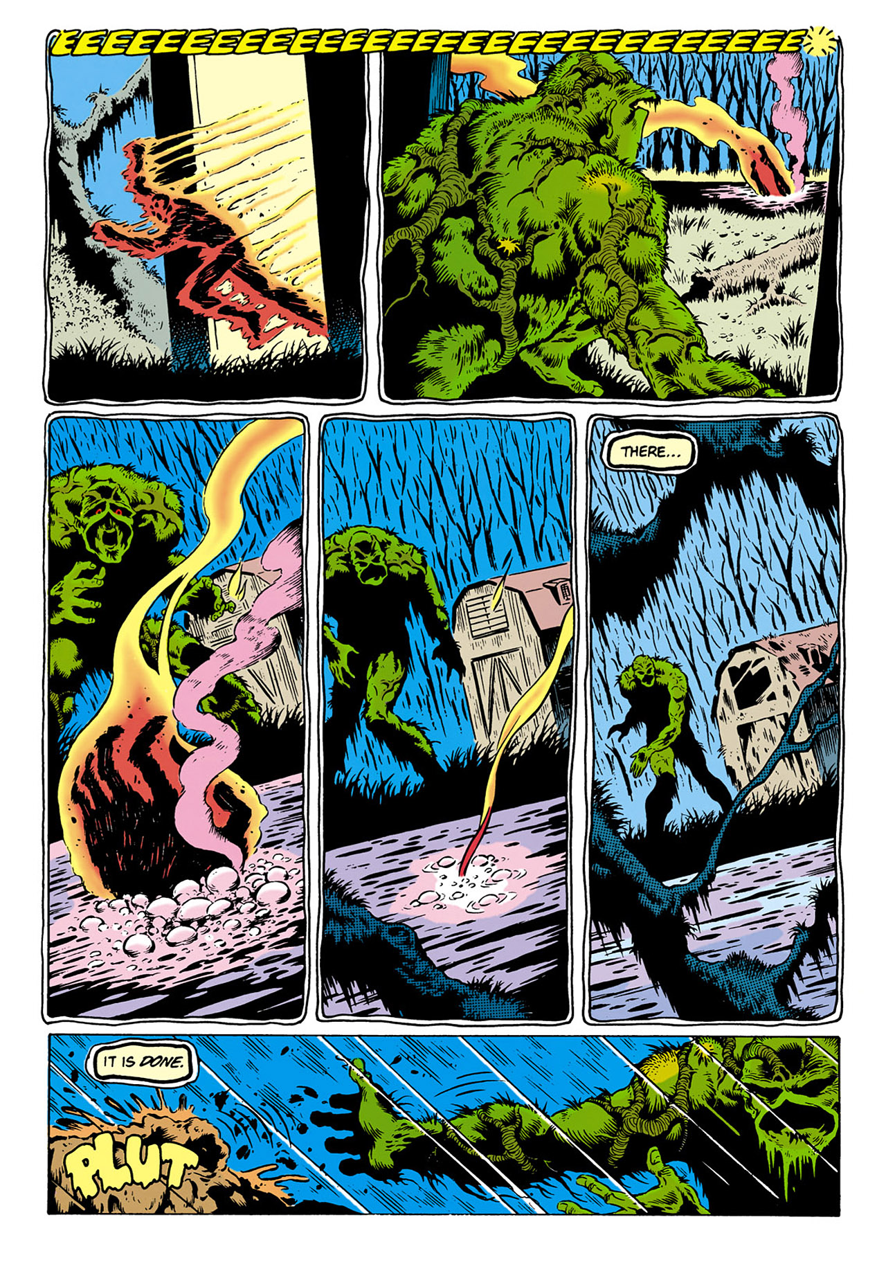 Swamp Thing (1982) Issue #28 #36 - English 16
