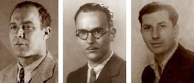 Los ajedrecistas Gracia, Vallès y Massó