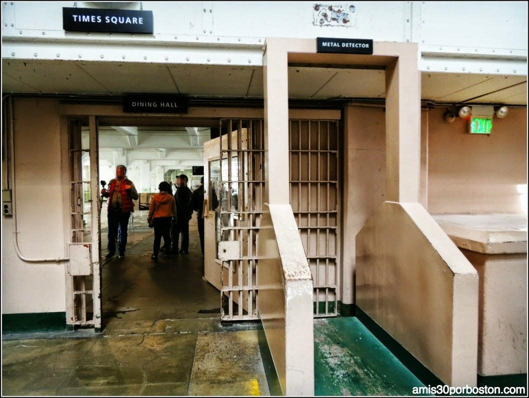 La Prisión de Alcatraz: Entrada al Comedor