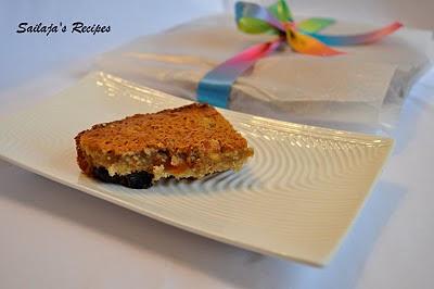 Rich Fruit Semolina Cake Without Egg