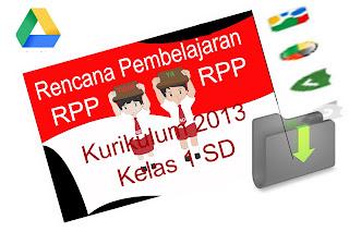 RPP KELAS I KURIKULUM 2013