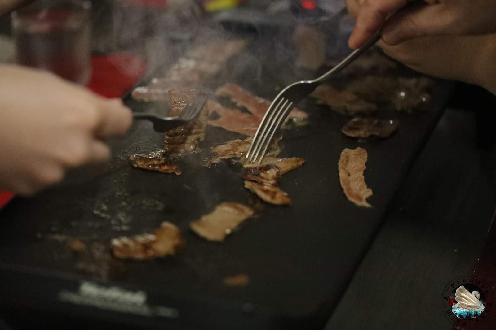 Barbecue de bœuf coréen à la plancha (pas à pas en photos)