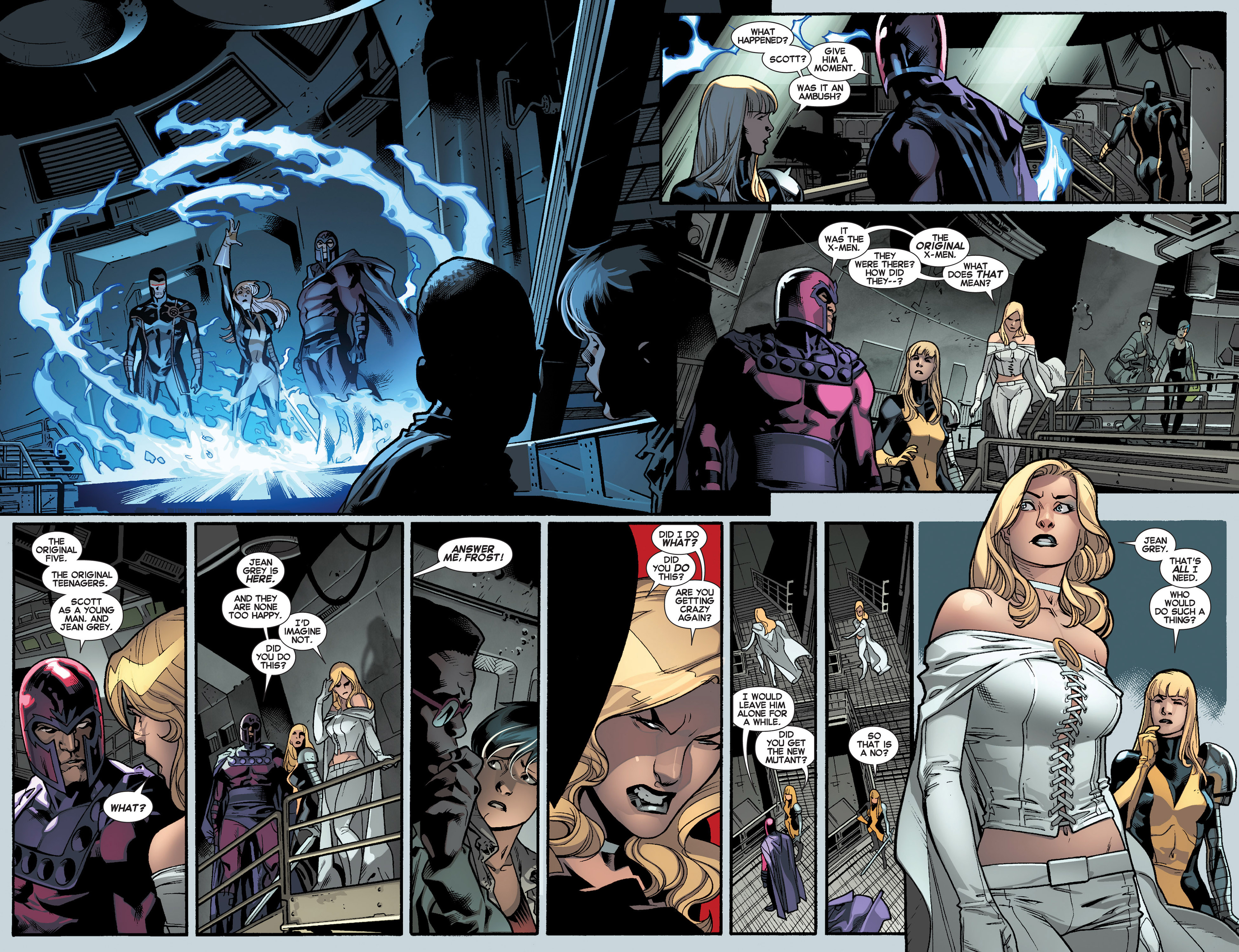Read online All-New X-Men (2013) comic -  Issue #4 - 11