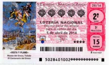 Sorteo extraordinario de primavera en la Lotería Nacional