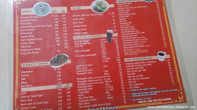 good taste restaurant baguio city menu 2