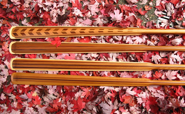 NorthPoint Paddles - Greenland Paddles & Fall Leaves