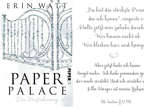 REZENSION || PAPER PALACE ~ ERIN WATT