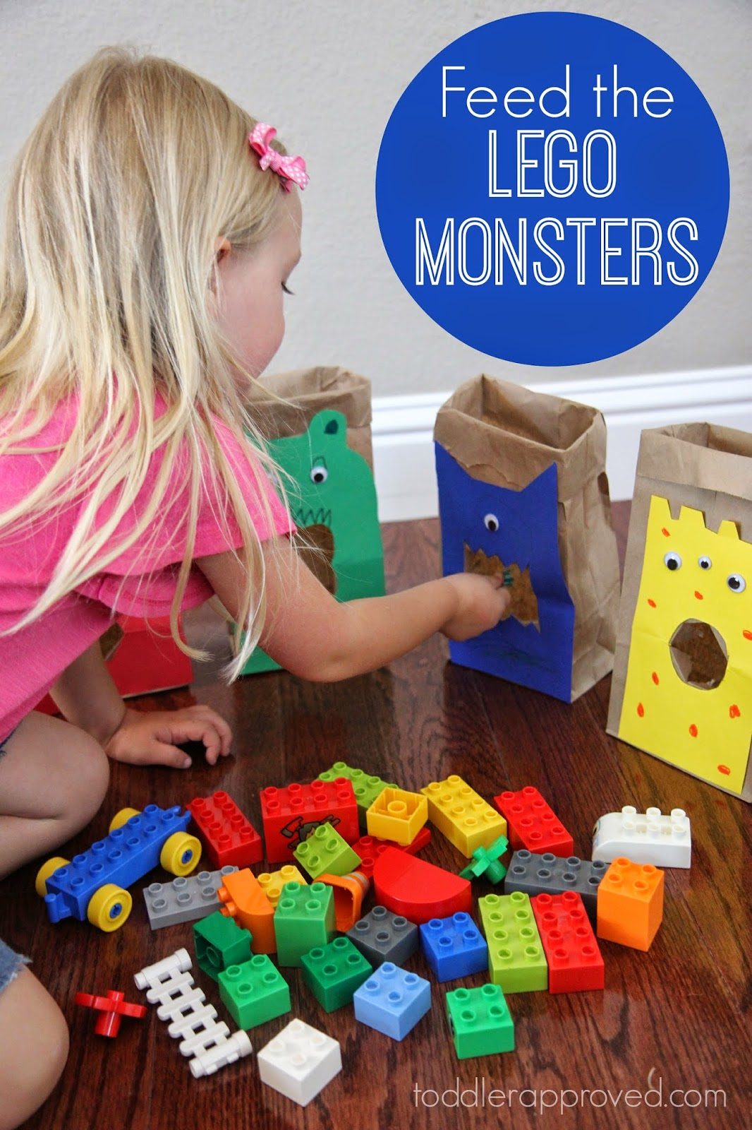 Toddler Approved Feed The Lego Monsters A Sorting And