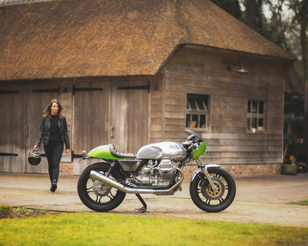Wonderful Green Moto Guzzi Le Mans 850 Cafe Racer Rocketgarage Cafe Racer Magazine