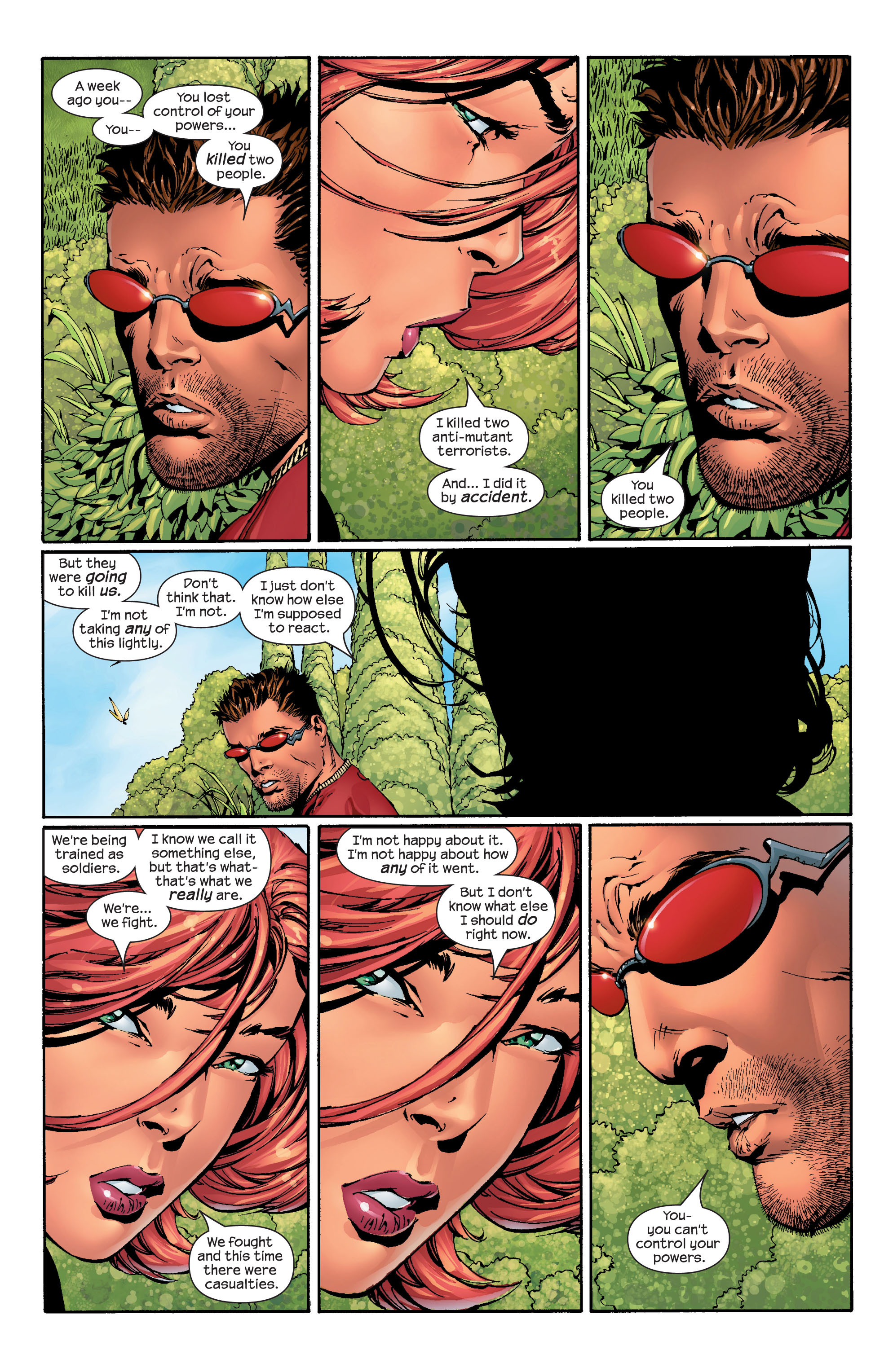 Read online Ultimate X-Men comic -  Issue #42 - 5