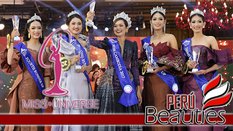 Miss Universe Cambodia 2017 / 2018