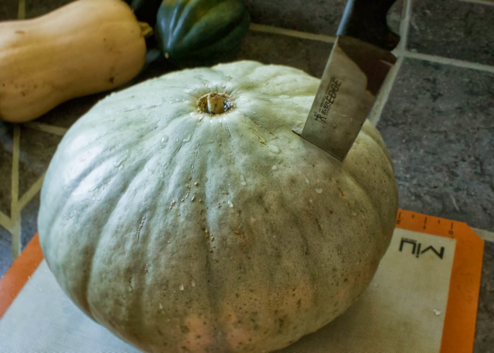 Crazy Cheap Cooking Cooking The Pumpkin Whole Or A Really Large Squash