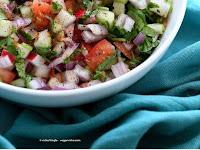 Kachumber Salad - Cucumber Tomato Onion Salad Recipe