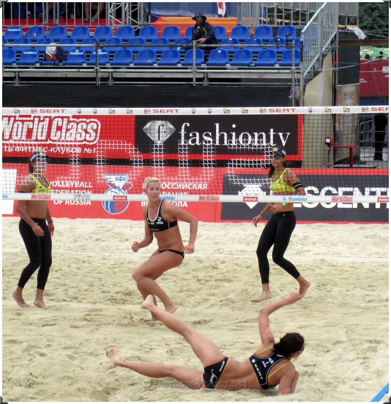 BEACH VOLLEYBALL RYTHM OF THE GAME