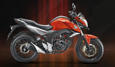 New Honda CB Hornet 160R side view HD image