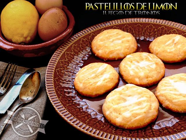 Pastelillos de limón de Sansa de Juego de Tronos