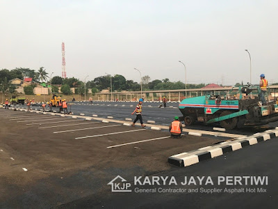 Karya Jaya pertiwi Kontraktor pengaspalan, aspal hotmix
