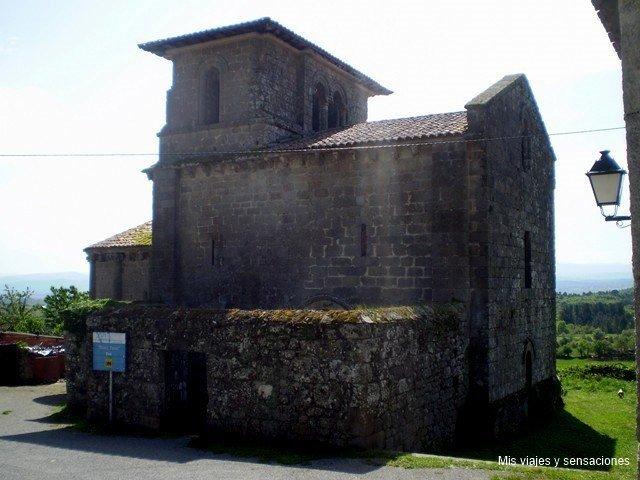 Iglesia de San Miguel de Eiré, Ribeira Sacra, Galicia