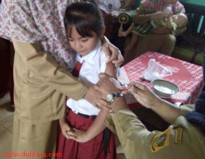 Imusisasi Difteri Di Sekolah Dasar Kab.Bogor