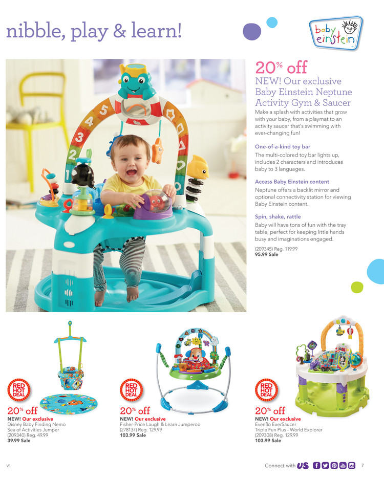 """The Babies """"R"""" Us weekly ad gives customers great deals on car seats, cribs, strollers, bedding, diapers, formula, and more. They even offer natural and organic baby products for ."""