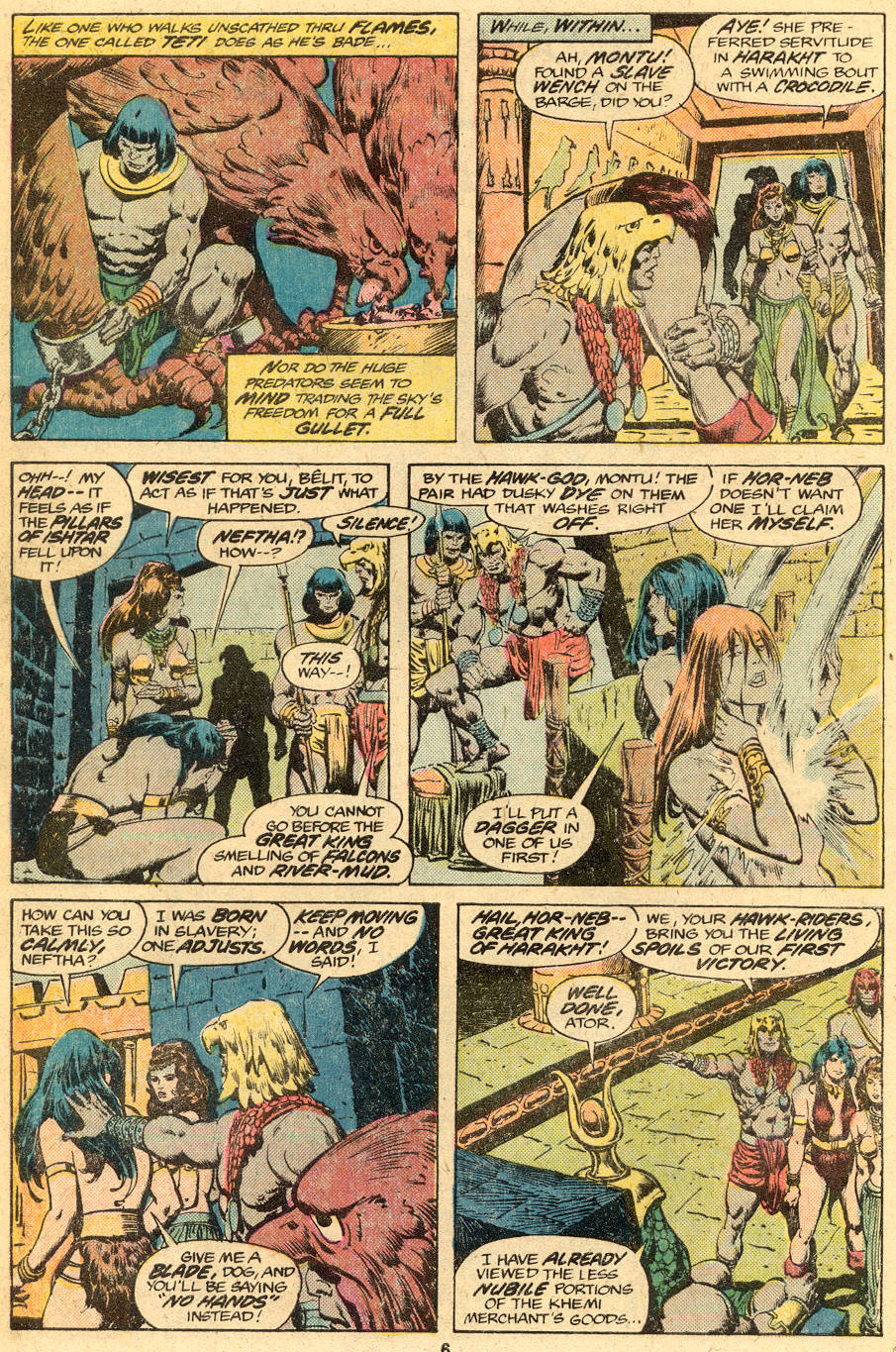 Conan the Barbarian (1970) Issue #76 #88 - English 5